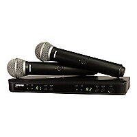 Shure BLX Wireless System BLX288/PG58 - wireless microphone system