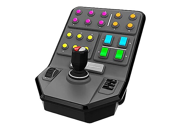 Logitech Heavy Equipment Side Panel - joystick - wired