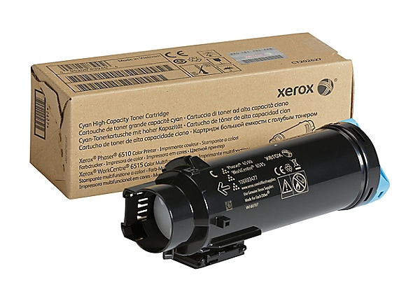 Xerox WorkCentre 6515 - High Capacity - cyan - original - toner cartridge