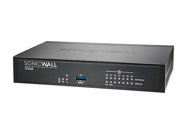 SonicWall TZ400 - Advanced Edition - security appliance - Secure Upgrade Pl
