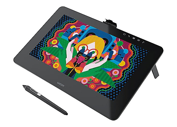 Wacom Cintiq Pro DTH-1320 - digitizer - USB, DisplayPort - dark gray