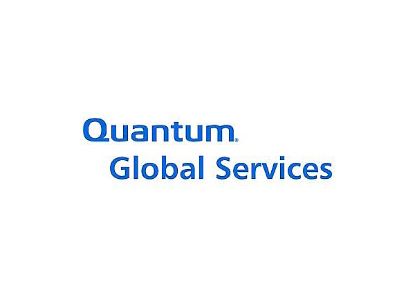 Quantum StorageCare Gold Support Plan Zone 1 - extended service agreement (