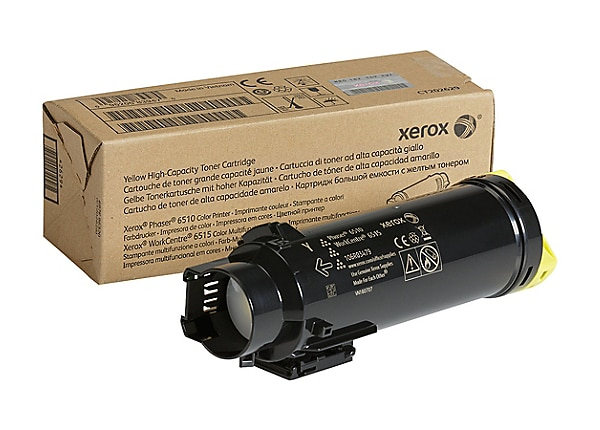 Xerox WorkCentre 6515 - High Capacity - yellow - original - toner cartridge