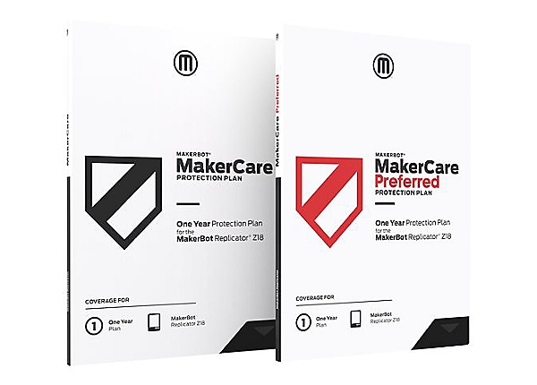 MakerBot MakerCare Preferred Protection Plan extended service agreement - 3