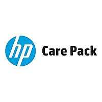 Electronic HP Care Pack Next Business Day Channel Remote and Parts Exchange