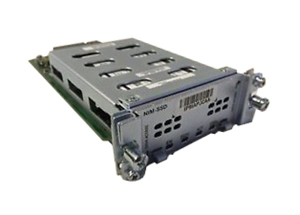 Cisco NIM Carrier Card - storage receiving frame (bay)