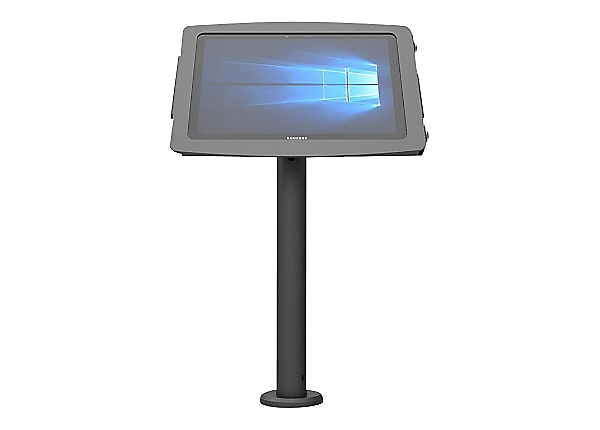 "Compulocks Space Rise Galaxy Tab A 8"" Counter Top Kiosk 24"" Black - stand"