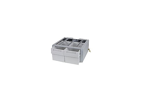 Ergotron StyleView SV Supplemental Storage Drawer, Double Tall - mounting c