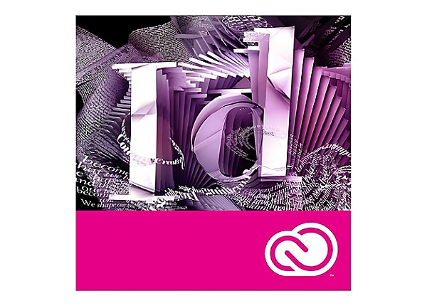 Adobe InDesign CC - subscription license - 1 user