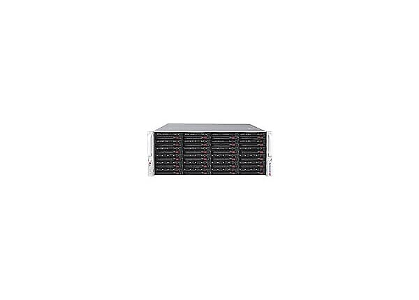 Supermicro SC846 BE2C-R1K28B - rack-mountable - 4U - enhanced extended ATX