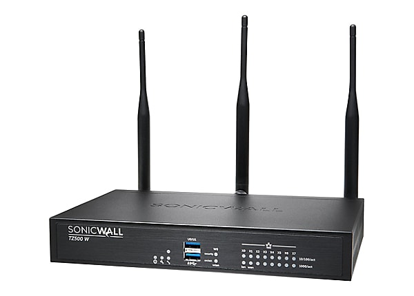 SonicWall TZ500 Wireless-AC - Advanced Edition - security appliance - with