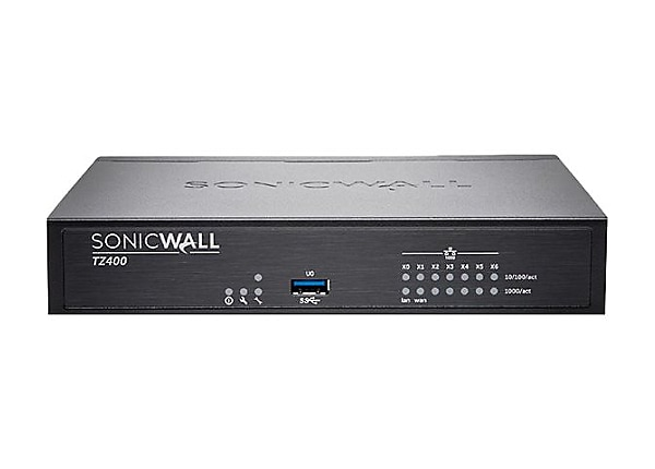 SonicWall TZ400 Wireless-AC - Advanced Edition - security appliance - Secur