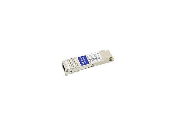AddOn Force10 Compatible QSFP+ Transceiver - QSFP+ transceiver module - 40