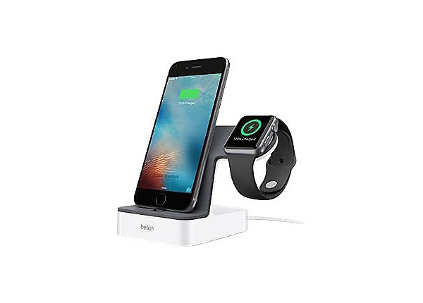 Belkin PowerHouse charging stand - + AC power adapter