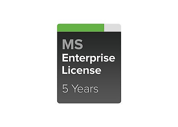 Cisco Meraki Enterprise - subscription license (5 years) + 5 Years Enterpri