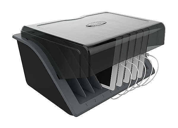Tripp Lite 10-Device USB Desktop Charging Station with Surge Protection