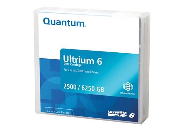 Quantum - LTO Ultrium 6 x 20 - 2.5 TB - storage media