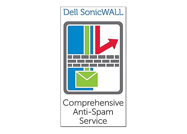 SonicWall Comprehensive Anti-Spam Service - subscription license (3 years)