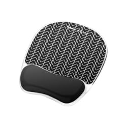 Fellowes Photo Gel Mouse Pad Wrist Rest with Microban - mouse pad with wris
