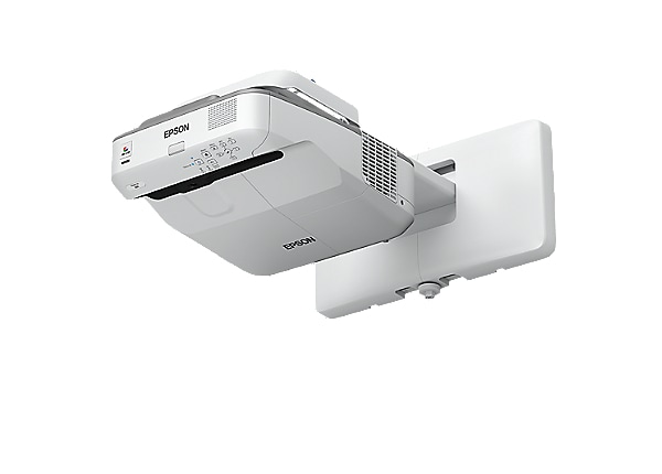 Epson PowerLite 680 - 3LCD projector - ultra short-throw - LAN