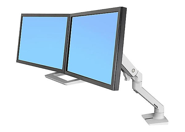 Ergotron HX Desk Dual Monitor Arm - mounting kit