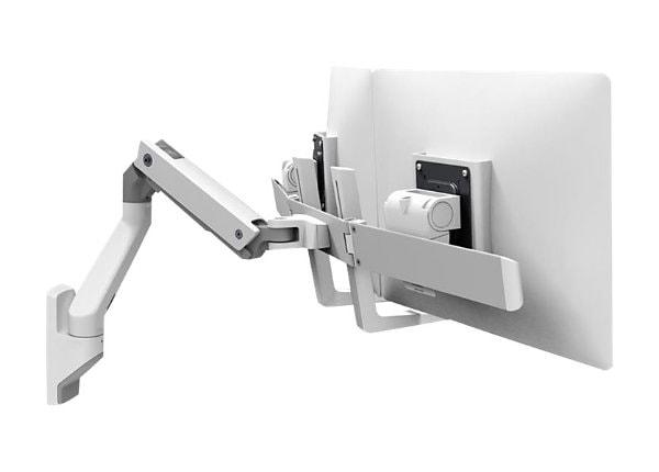 Ergotron Hx Dual Monitor Wall Mount Arm Mounting Kit
