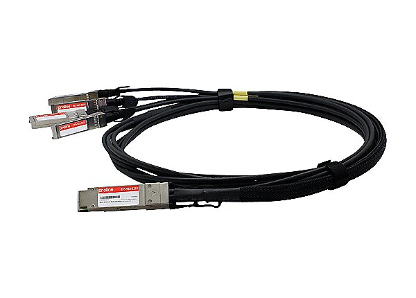 Proline 40GBase direct attach cable - TAA Compliant - 6.6 ft