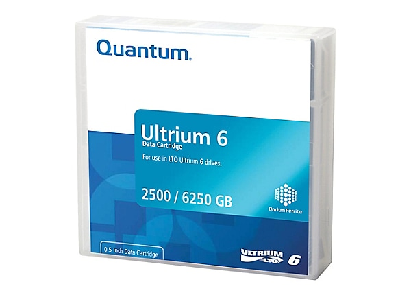 Quantum - LTO Ultrium 6 x 1 - 2.5 To - support de stockage