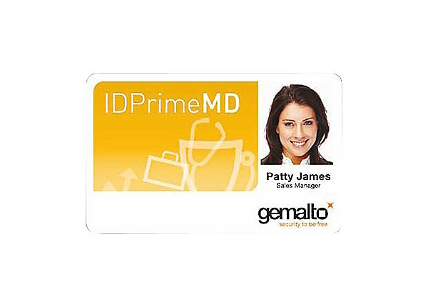 Gemalto IDPrime MD 830 security smart card