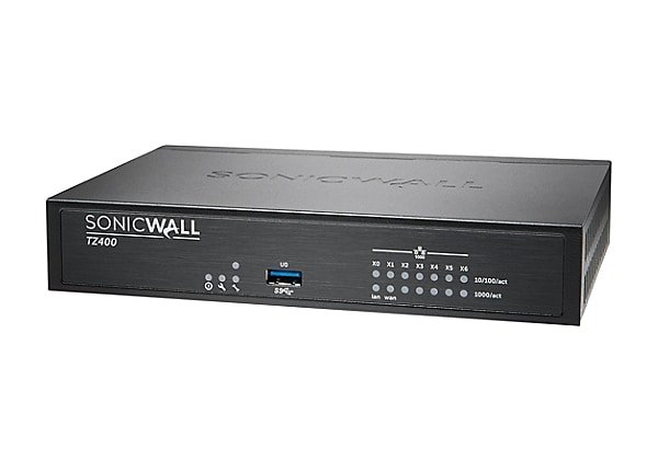 SonicWall TZ400 - Advanced Edition - security appliance - with 1 year Total