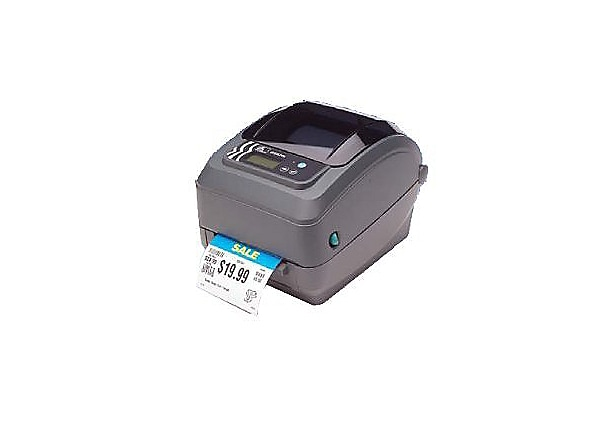 Zebra GX Series GX420t - label printer - monochrome - direct thermal / ther