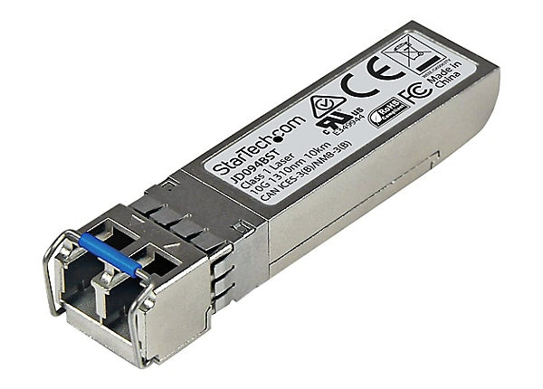 StarTech.com HPE JD094B Compatible SFP+ - 10GbE SMF Transceiver - 10km DDM