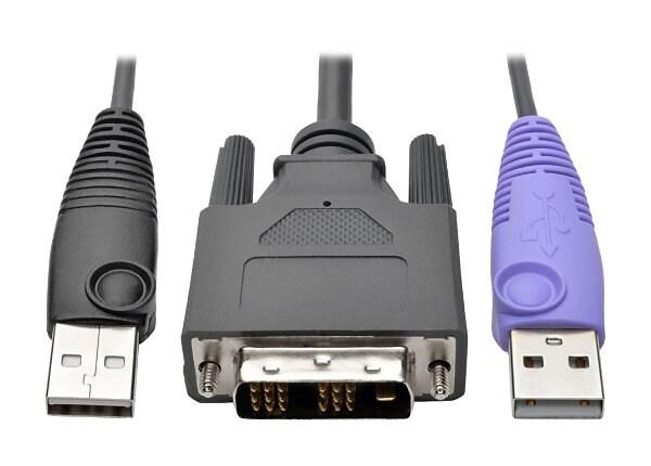 Tripp Lite DVI USB Server Interface w/ Virtual Media & CAC for B064 KVMs