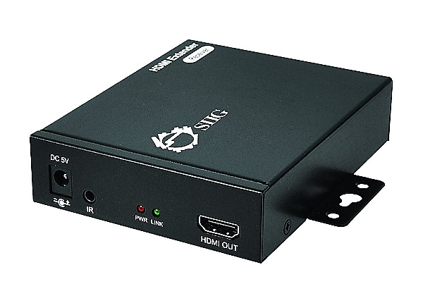 SIIG HDMI Over Gigabit IP Extender with IR - Receiver - video/audio/infrare