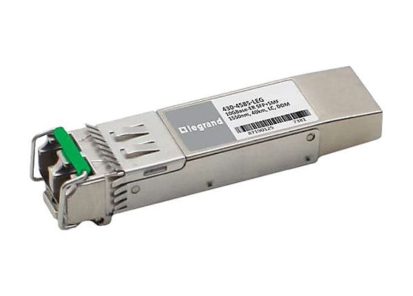 C2G Dell 430-4585 Compatible TAA Compliant 10GBase-ER SFP+ Transceiver (SMF