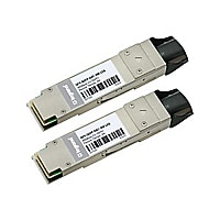 C2G 40GBase-CU direct attach cable - 3 m - silver - TAA Compliant