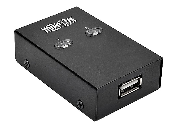 Tripp Lite 2-Port USB Hi-Speed Sharing Switch for Printer/ Scanner /Other