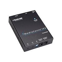 Black Box MediaCento IPX PoE Multicast Transmitter - video/audio extender -