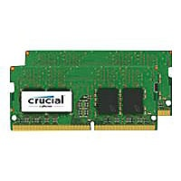 Crucial - DDR4 - 16 GB: 2 x 8 GB - SO-DIMM 260-pin - unbuffered
