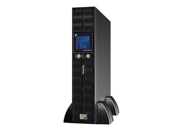 CyberPower Professional Rack Mount LCD Series PR1000ELCDRT2U - UPS - 700 Wa