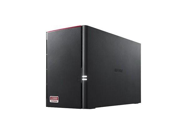 BUFFALO LinkStation 500 Series LS520DN0402 - NAS server - 4 TB