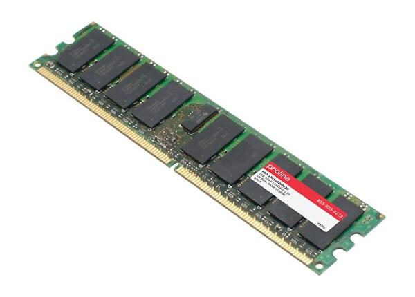 Proline - DDR3 - 2 GB - DIMM 240-pin - unbuffered
