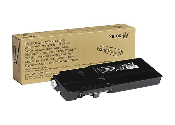 Xerox VersaLink C400 - High Capacity - black - toner cartridge