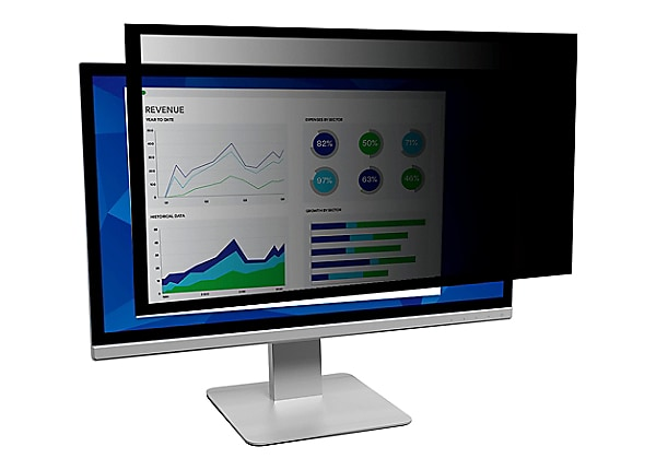 """3M Framed Privacy Filter for 27"""" Monitors 16:9 - display privacy filter - 2"""