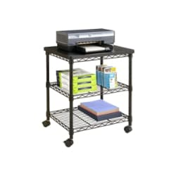 Safco Deskside Wire Machine Stand - printer cart