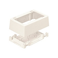 Panduit Pan-Way Two-Piece Snap-Together Box - surface mount box