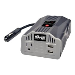 Tripp Lite 200W Car Inverter Compact w/ 1 Outlet and 2 USB Charging Ports