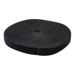 StarTech.com Hook-and-Loop Cable Management Tie - Cable Wrap - 25 ft. Roll
