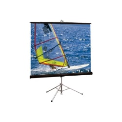 """Draper Diplomat/R HDTV Format - projection screen with tripod - 76"""" (193 cm"""