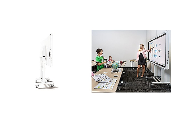 TRIUMPH BOARD Mobile Stand with Electric Lift for IFP